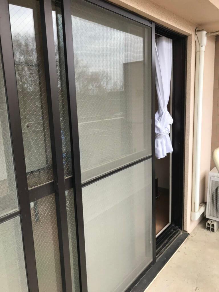 網戸 引き違い窓